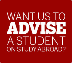 Want us to advise a student on study abroad?