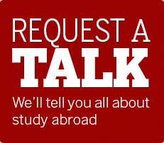 Request a talk about study abroad