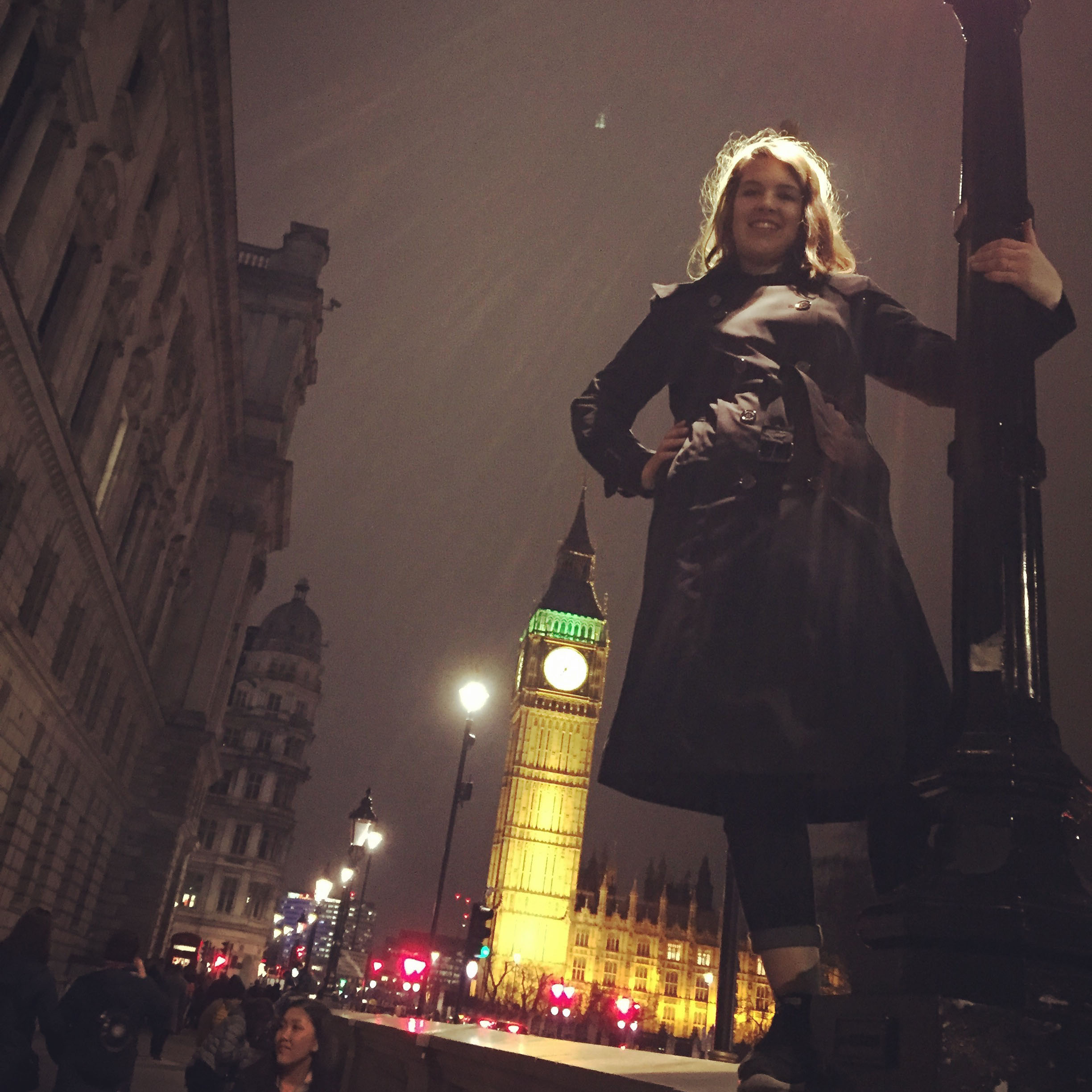 Jaci in London