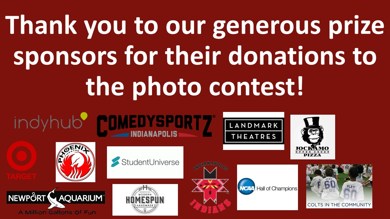 Thank you to our generous prize sponsors for their donations to the photo contest